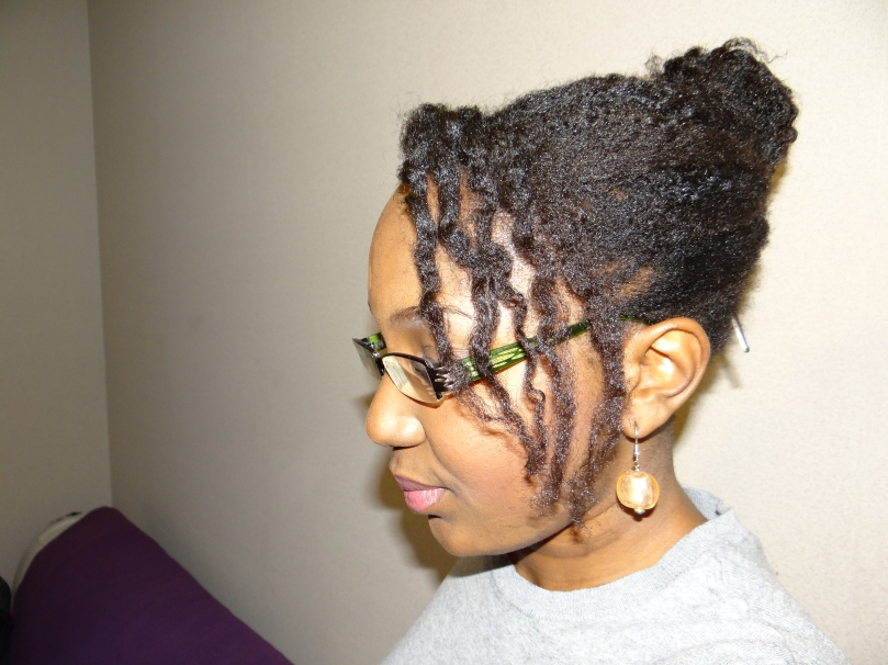 coiffure cheveux crépus - banane