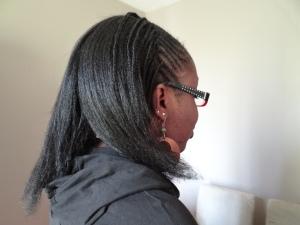 Lissage cheveux crépus naturels