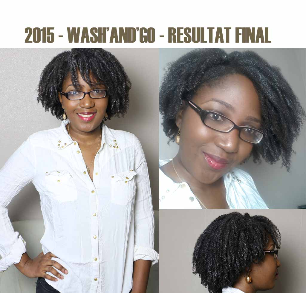 wash and go resultat final