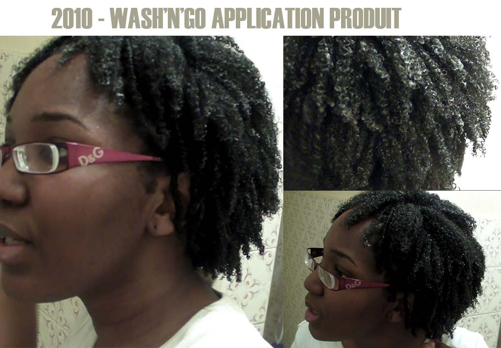 Wash'n'go application produit